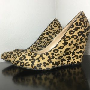 Banana Republic Leopard Wedges